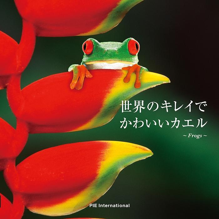 書籍 『世界のキレイでかわいいカエル』 2016年5月23日発売。