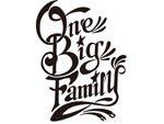 -ONE BIG FAMILY-PROJECT 熊本地震復興支援チャリティTシャツ RUDE GALLERY TOKYOにて2016年6月25日より販売。