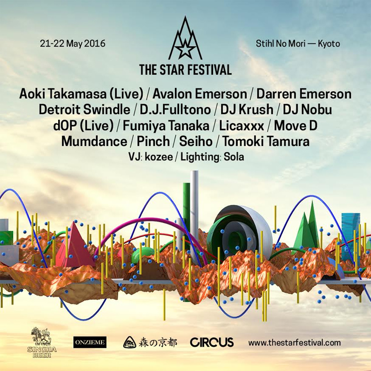 THE STAR FESTIVAL 2016 KyotoとRed Bull Music Academyとのコラボレーションが実現!DJ NOBUがオールナイトロングセット& MUMDANCEによる貴重なレクチャー開催へ!