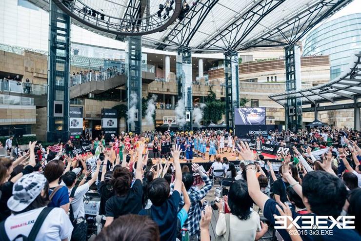 3人制バスケットボール「3x3」の国内トップリーグ『3x3 PREMIER.EXE 2016 Round.1 TACHIKAWA』 2016年6月11日(土)、12(日) 応援.COMにて LIVE 配信決定。
