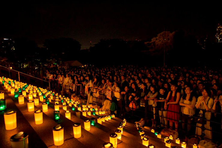 100万人のキャンドルナイト 2016年6月19日(日) at 大本山増上寺
