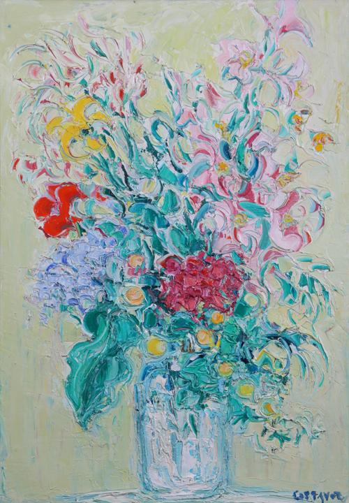 Les floralies (花展)  2016.06.08(水)~07.10(日) at ギャルリーためなが