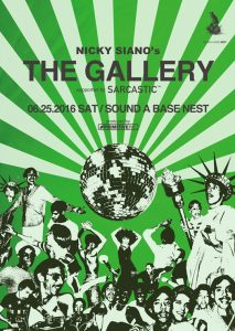 The Gallery supported by Sarcastic【宇都宮公演】