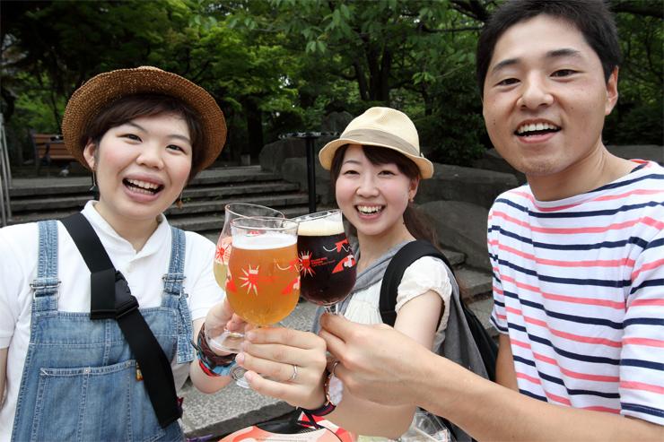 ベルギービールウィークエンド仙台 2016年7月14日(木)~18日(月・祝)at 仙台勾当台公園