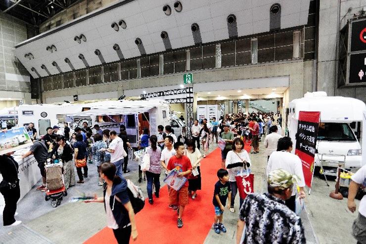 『東京キャンピングカーショー2016』7月2日(土) ・7月3日(日) at 東京ビッグサイト 東6ホール