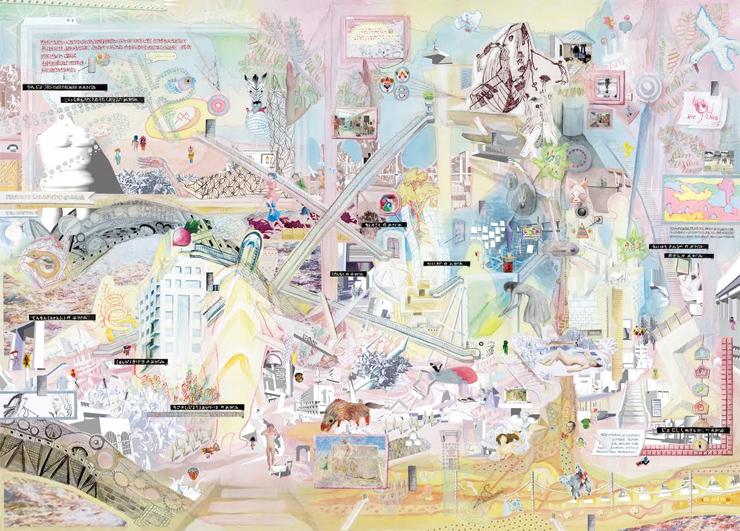 諸芸術のタテモノたちが佇む聖なる廃墟ー KOURYOU 「諸芸術のタテモノたちが佇む聖なる廃墟」2016