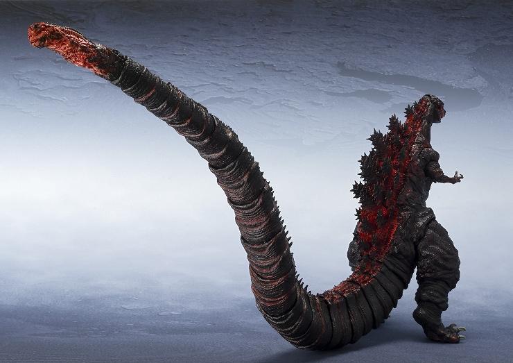 映画『シン・ゴジラ』公開記念 アクションフィギュア『S.H.MonsterArtsゴジラ(2016)』2016年11月発売決定。魂ネイションズ AKIBAショールームにて『S.H.MonsterArts ゴジラシリーズ特集展示』を7月20日(水)まで開催中。