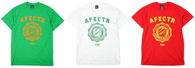 AFFECTER - Grunge Crest S/S Tee