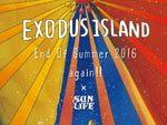 Exodus Island 2016 again !! 2016年9月3日(土) 4日(日) at 鳥取小沢見ビーチ特設会場 ~第1弾ラインナップ発表~