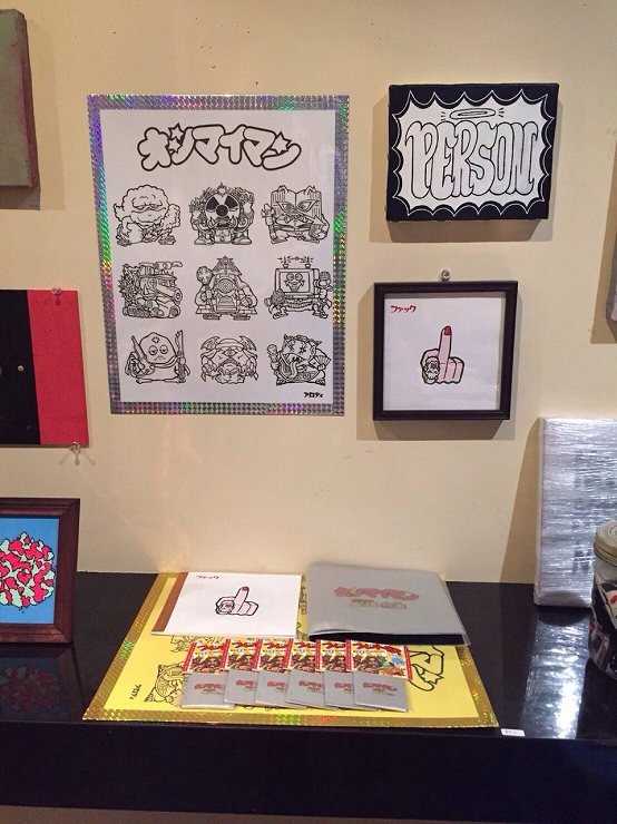 BLEND -3rd exhibition- 2016.08.01(mon)~08.06(sat) at レインボー倉庫下北沢 3Fギャラリー