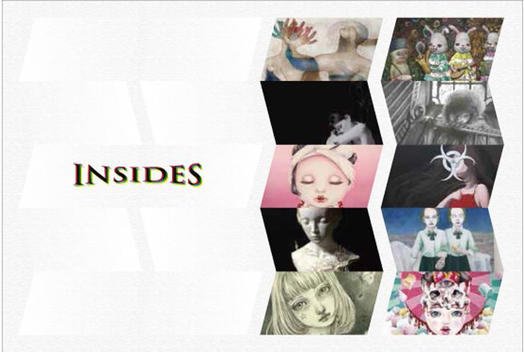 Inside(内側)をコンセプトに表出した作家による『INSIDES』展 2016年7月15日(金)~7月31日(日) at 中目黒MDP GALLERY
