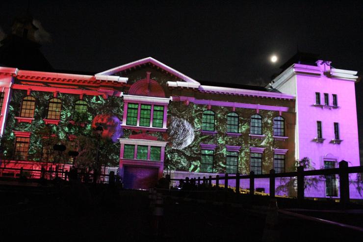 アジア最大のプロジェクションマッピング国際大会『1minute projection mapping 2016 in にいがた☆MINATOPIKA』2016年9月16日(金)~19日(月・祝)at 新潟市歴史博物館 みなとぴあ
