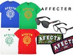 AFFECTER – PICK UP ITEMS (Grunge Crest S/S Tee、AFF GLASS、AFF GM TOWEL)