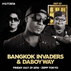 BANGKOK INVADERS & DABOYWAY