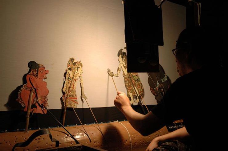 インドネシア・バリ島の人形劇 ワヤン