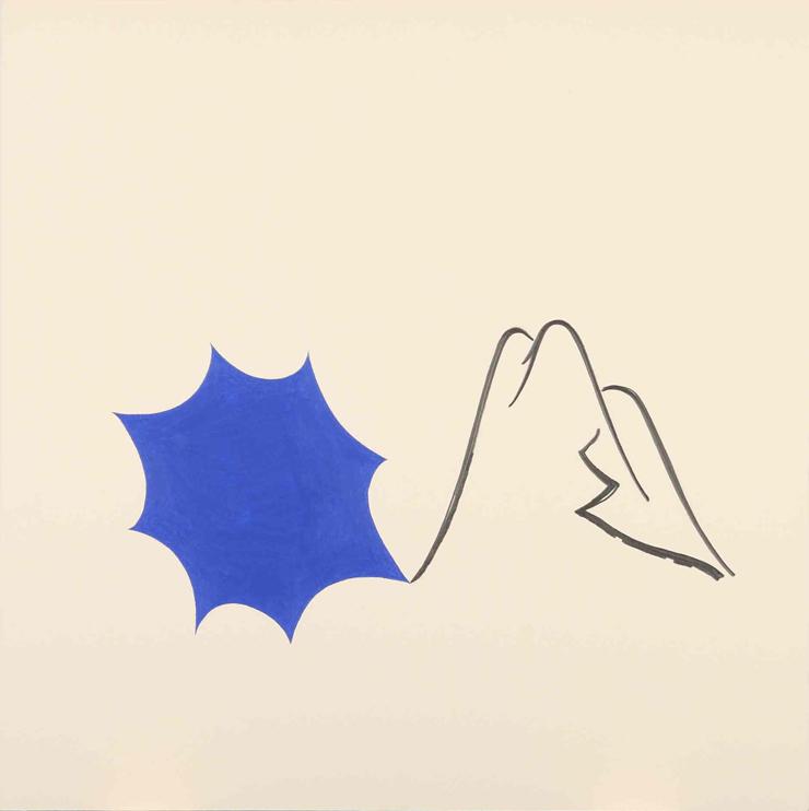 山の人生・第一日(2009)撮影:宮島径 ©O JUN, Courtesy Mizuma Art Gallery