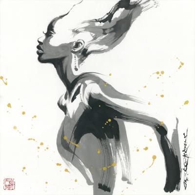 墨絵イラストレーター茂本ヒデキチ個展 『Shadow & Shade』 2016年7月22日(金)~ 8月3日(水)at 代官山GALLERY SPEAK FOR
