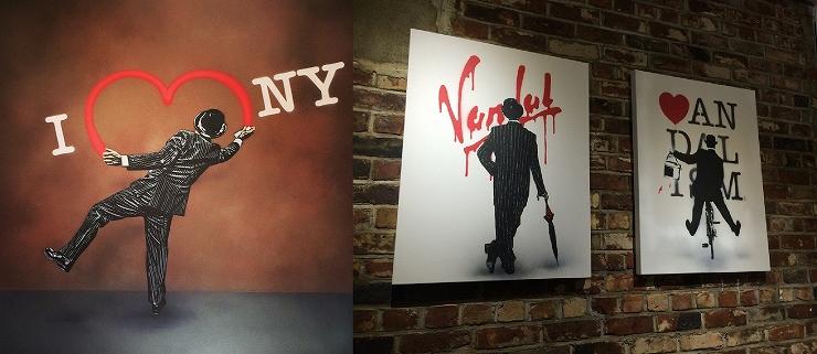 NICK WALKER EXHIBITION 『VANDALISM』2016年7月29日(金) ~8月7日(日) at 渋谷パルコ PART3・5F 特設会場 / 渋谷パルコ PART1・1Fウォールペイント