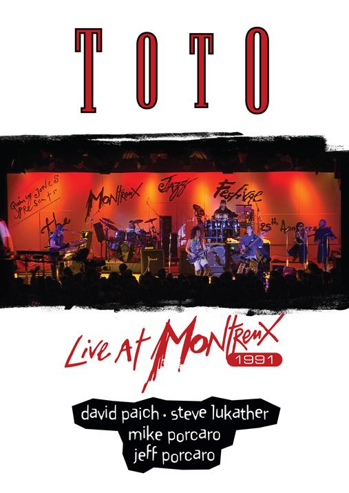 TOTO - 1991年のライヴ映像を収めたモントルー・アーカイヴ・シリーズ『TOTO / ライヴ・アット・モントルー 1991』 Release