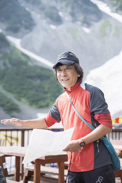 山岳ライター 佐々木亨