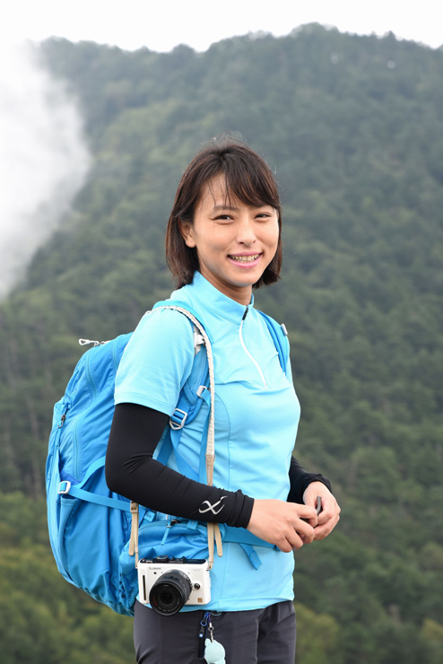 山岳ライター 小林千穂