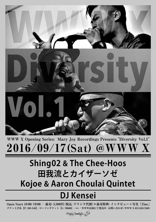 WWW X Opening Series  Mary Joy Recordings Presents Diversity Vol. 1