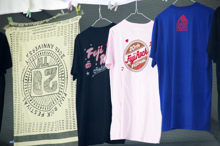 ~Tシャツを眺めて~ フジロックフェスティバル OFFICIAL GOODS SHOP @ 20th Anniversary FUJI ROCK FESTIVAL '16