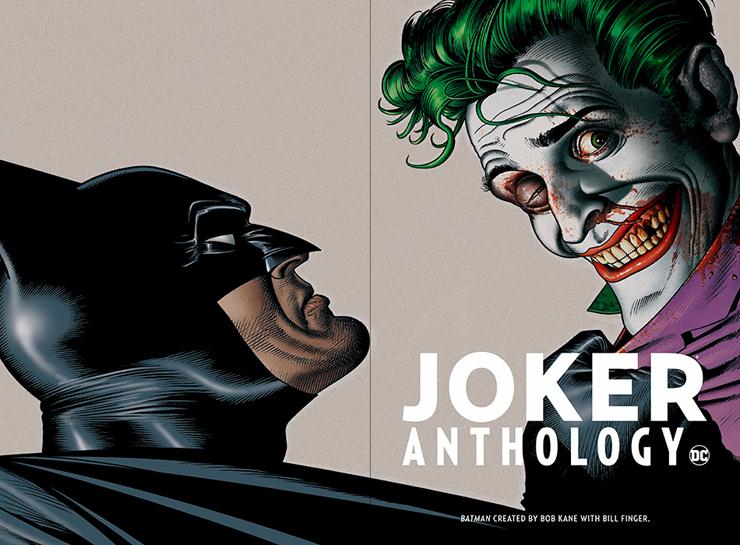 DCコミックスアンソロジーシリーズ 『ジョーカー アンソロジー』刊行