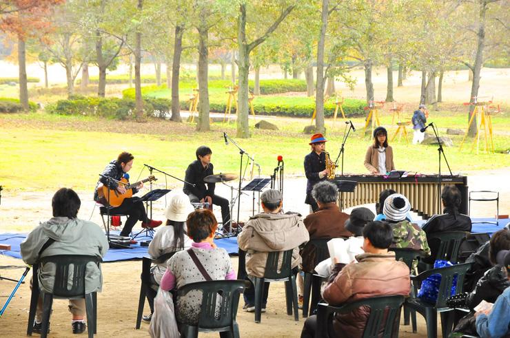 21世紀の森と広場 ドコでもシアター『リズムを刻む夏夜の森』2016年8月27日(土)at 松戸 21世紀の森と広場 光と風の広場