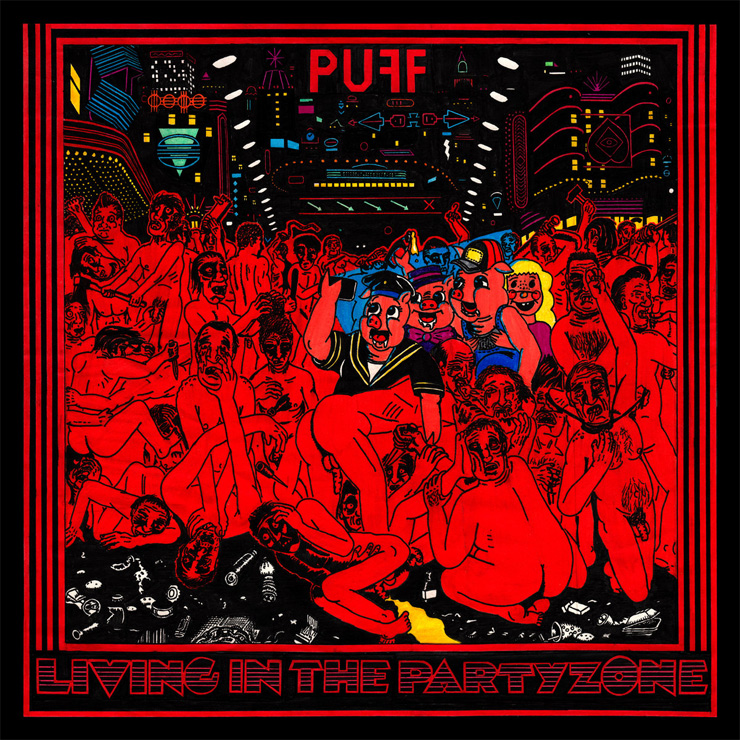 PUFF! - New Album『Living In The Partyzone』Release
