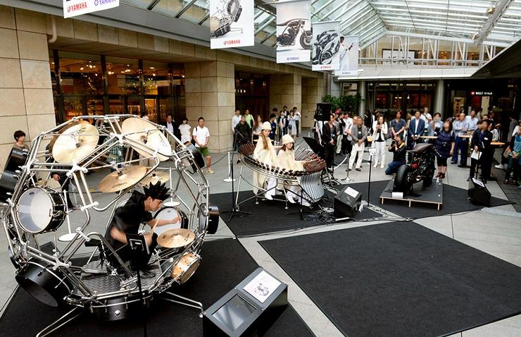 Two Yamahas, One Passion ~デザイン展2016~ 2016年10月7日(金)~10月10日(月・祝)at 六本木ヒルズ 大屋根プラザ