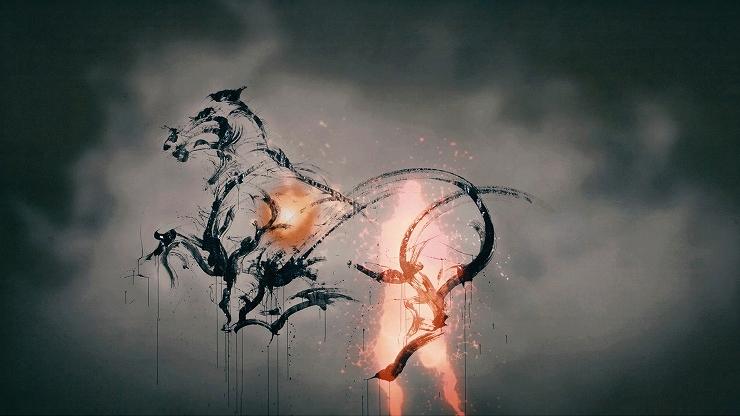 日本中央競馬会が凱旋門賞 マカヒキ応援プロジェクトとして行われたイベント【凱旋門賞 LIVE PAINT REPORT   墨絵士・西元祐貴】の動画を公開。