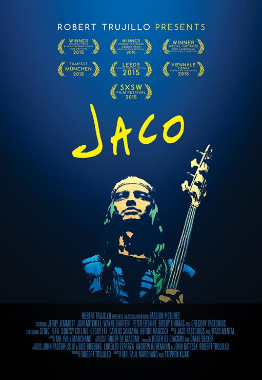 ジャコ・パストリアスのドキュメンタリー映画『JACO』2016.12.03(土)より全国順次ロードショー