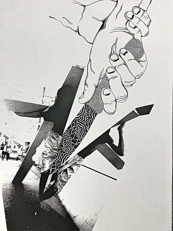 """レインボー倉庫下北沢 1~2F階段スペースを利用した""""ウォークギャラリー""""11月の展示アーティストはkinkomans graphics(キンコマンズグラフィックス)"""