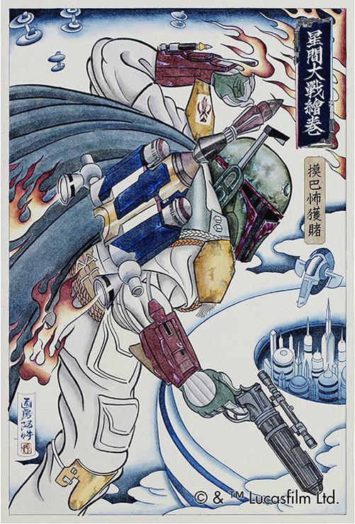 『スター・ウォーズ』浮世絵 -第2弾- 2016年12月下旬発売。11/16(水)より予約受付開始。