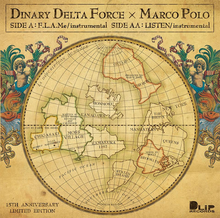 DINARY DELTA FORCE x MARCO POLO『F.L.A.Me / LISTEN』