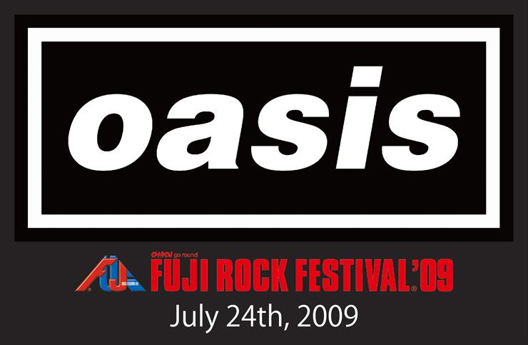 『oasis FUJI ROCK FESTIVAL'09』2017年3月4日(土) 新宿ピカデリーほか全国劇場で期間限定上映
