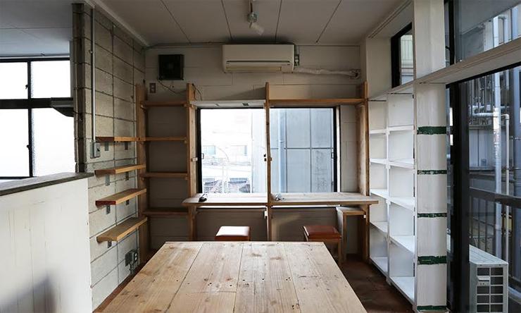 レインボー倉庫下北沢に新たにデスクを用意したシェアワークスペースが誕生。
