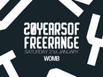 Freerange Records設立20周年パーティー『20 YEARS OF FREERANGE』2017.01.21(土)東京WOMB、22(日)大阪UNIONで開催。レーベル主宰のJimpsterが来日。