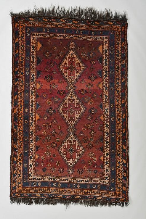 絨毯 西イラン カシュガイ・ルリ族 1930年頃 (C)丸山コレクション