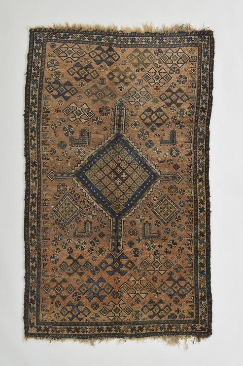 絨毯 西イラン ルリ族 1880年頃 (C)丸山コレクション