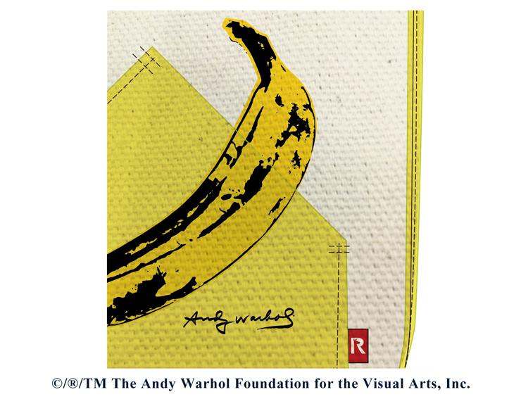 没後30年、Andy Warhol×ROOTOTEコラボレーショントートバッグ