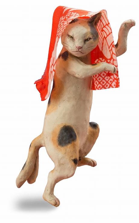 『福ねこ at 百段階段展 ~和室で楽しむ ねこアート~』2017年4月26日(水)~5月14日(日) at 目黒雅叙園「百段階段」