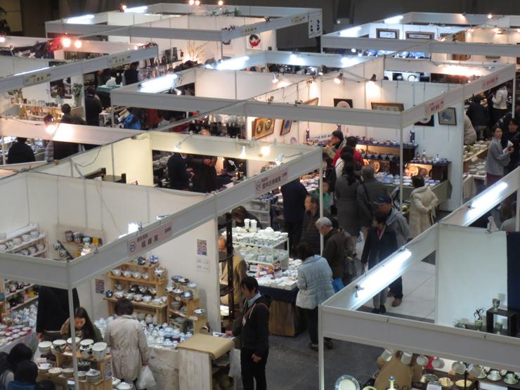 『陶芸ジャパン2017 彩りの器市』/2017年3月9日(木)~12日(日) at 神戸ファッションマートアトリウムプラザ