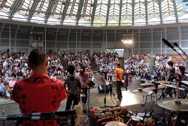 『AUN J クラシック・オーケストラ 桜祭り 2017』2017年4月2日(日) at 上野恩賜公園 野外ステージ