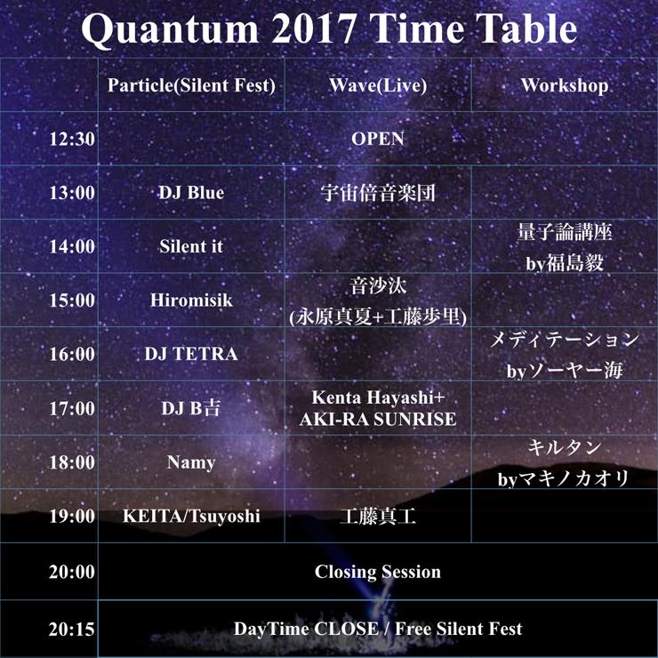 『Quantum2017』2017年4月8日(土) at 中滝アートビレッジ 虹の谷エリア