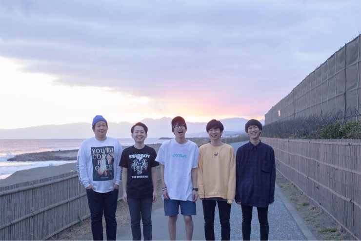 """either -  1st Single『In my room』Release/ レコ発イベント""""Endless Summer Ends Vol.04"""" 2017.04.08(sat) at 下北沢THREE"""