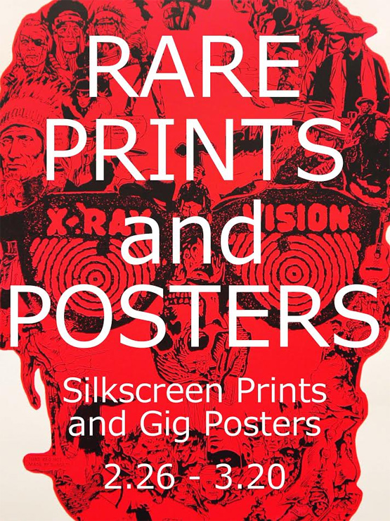 『RARE PRINTS and POSTERS』2017年2月26日(日)~3月20日(月・祝)at THE blank GALLERY