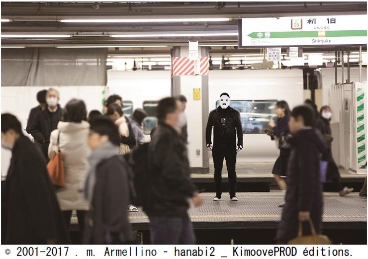 .m.Armellino 個展「.m. Armellino – dreams of robot」2017年4月27日(木)~5月3日(水・祝)at EARTH+GALLERY