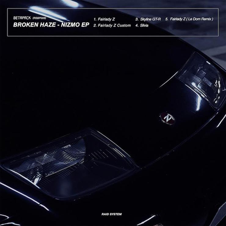 BETAPACKのBROKEN HAZEが国産車カルチャーをテーマにしたEPの第二弾『NIZMO』をリリース。